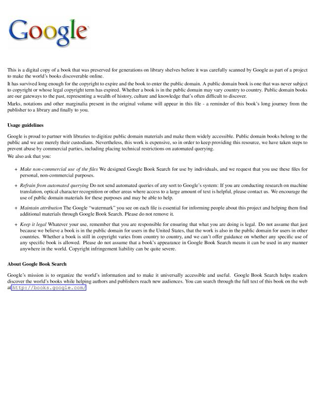 - A True Relaion Concerning the Estate of New-England, as it was Presented to ...