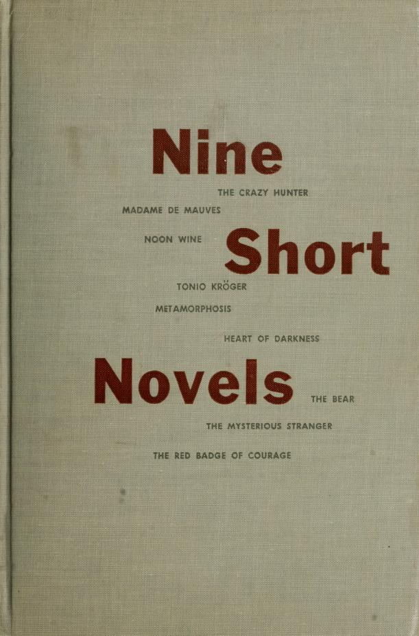 Nine short novels by Richard M. Ludwig