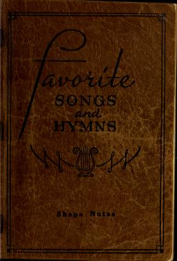 Cover of: Favorite songs and hymns | compiled by Homer F. Morris ... [et al.].