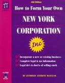 How to form your own New York corporation